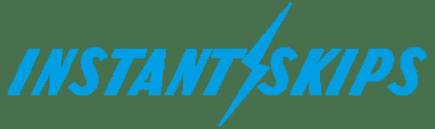 instant skip hire logo